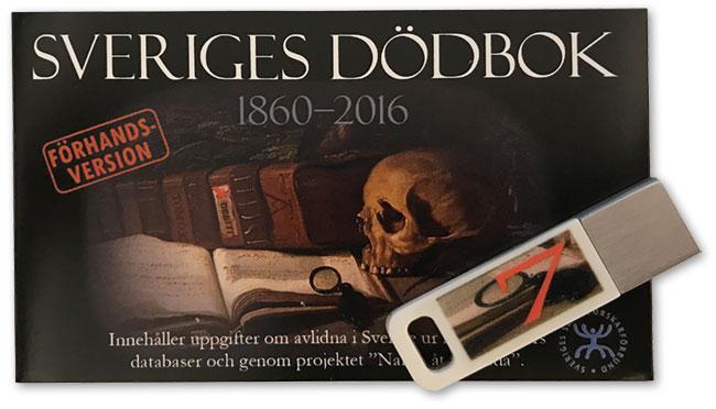 Sveriges dödbok 1860-2016