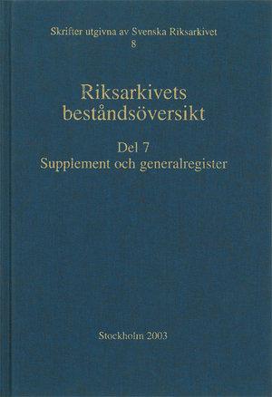 Riksarkivets beståndsöversikt - Paket