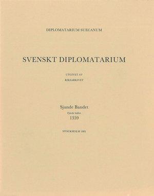 Svenskt Diplomatarium – Del 7:4