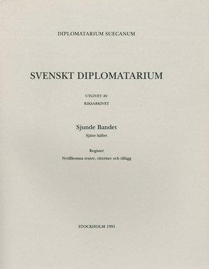 Svenskt Diplomatarium – Del 7:6