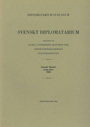Svenskt Diplomatarium – Del 8:3