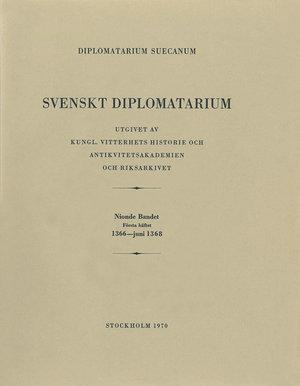 Svenskt Diplomatarium – Del 9:1