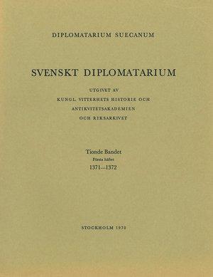 Svenskt Diplomatarium – Del 10:1