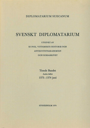 Svenskt Diplomatarium – Del 10:2