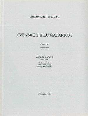 Svenskt Diplomatarium – Del 9:4