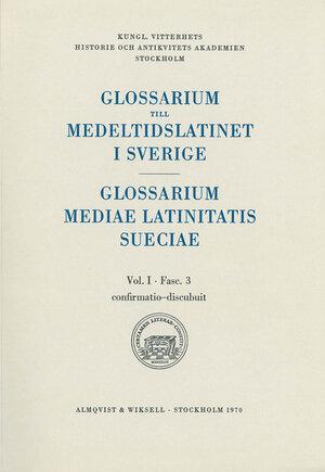 Glossarium till medeltidslatinet i Sverige – Paket