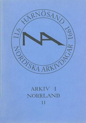 Arkiv i Norrland 11
