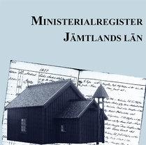 Ministerialregister – Jämtlands län