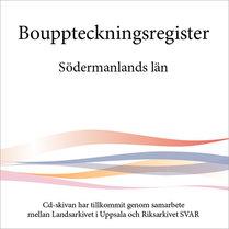 Bouppteckningsregister – Södermanlands län