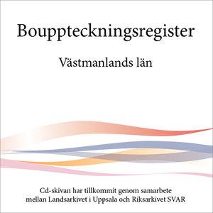 Bouppteckningsregister – Västmanlands län