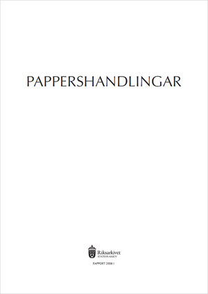 Pappershandlingar