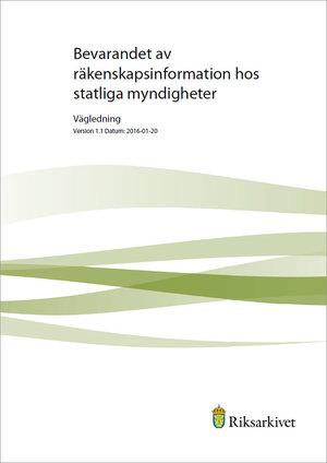 Bevarandet av räkenskapsinformation hos statliga myndigheter